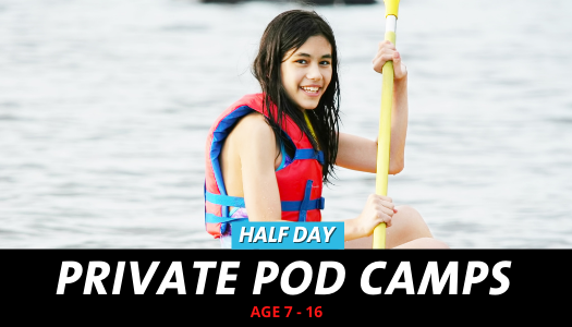 Pod Camps Cates - Half Day