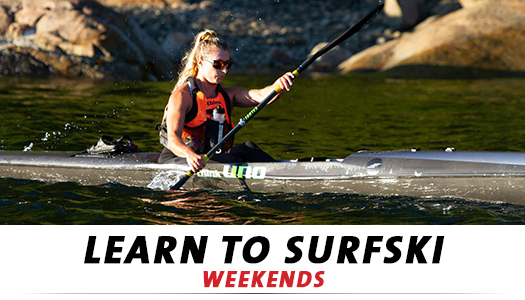 Learn to surfski at Cates Park